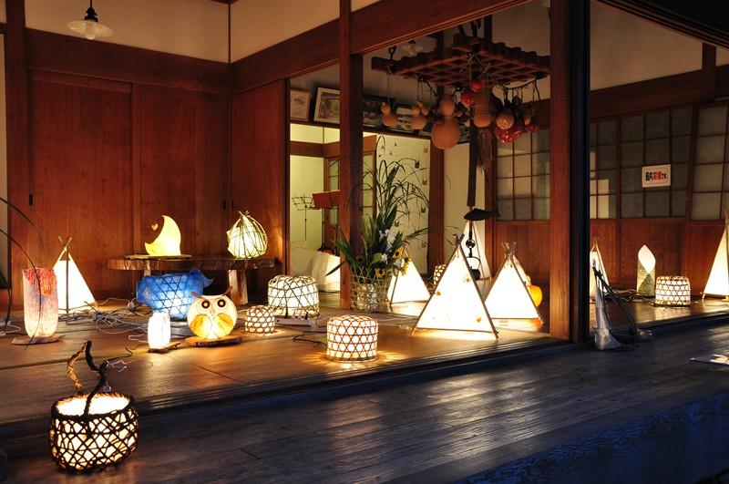 竹灯りの夕べ